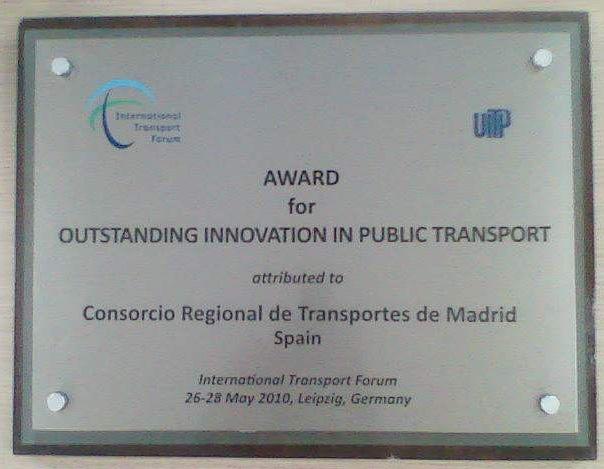 20100528 CRTM UITP AWARD