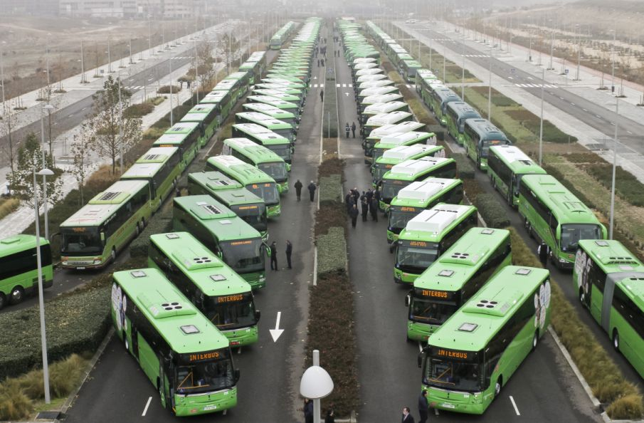 ITS Interurban Buses Madrid Region
